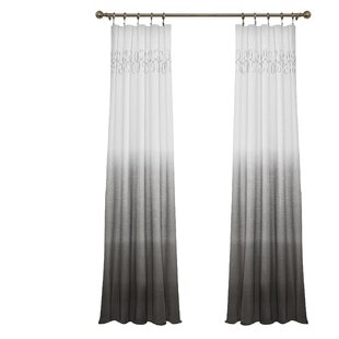 Modern Gray Silver Curtains Drapes