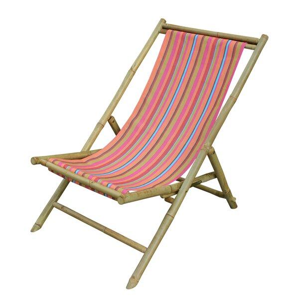 ZEW Sling Folding Beach Chair | Wayfair