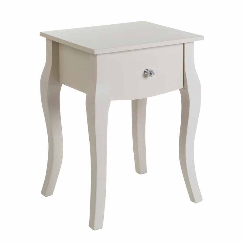 castleton home emily kids 1 drawer bedside table & reviews | wayfair