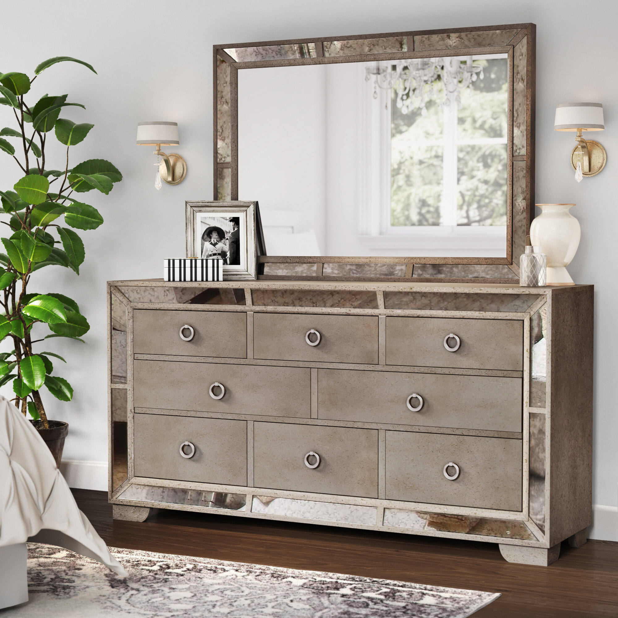 wide drawers ikea smooth design hemnes mirror black wooden case white modern wonderful spacious with handle pretty painted round square drawer dresser