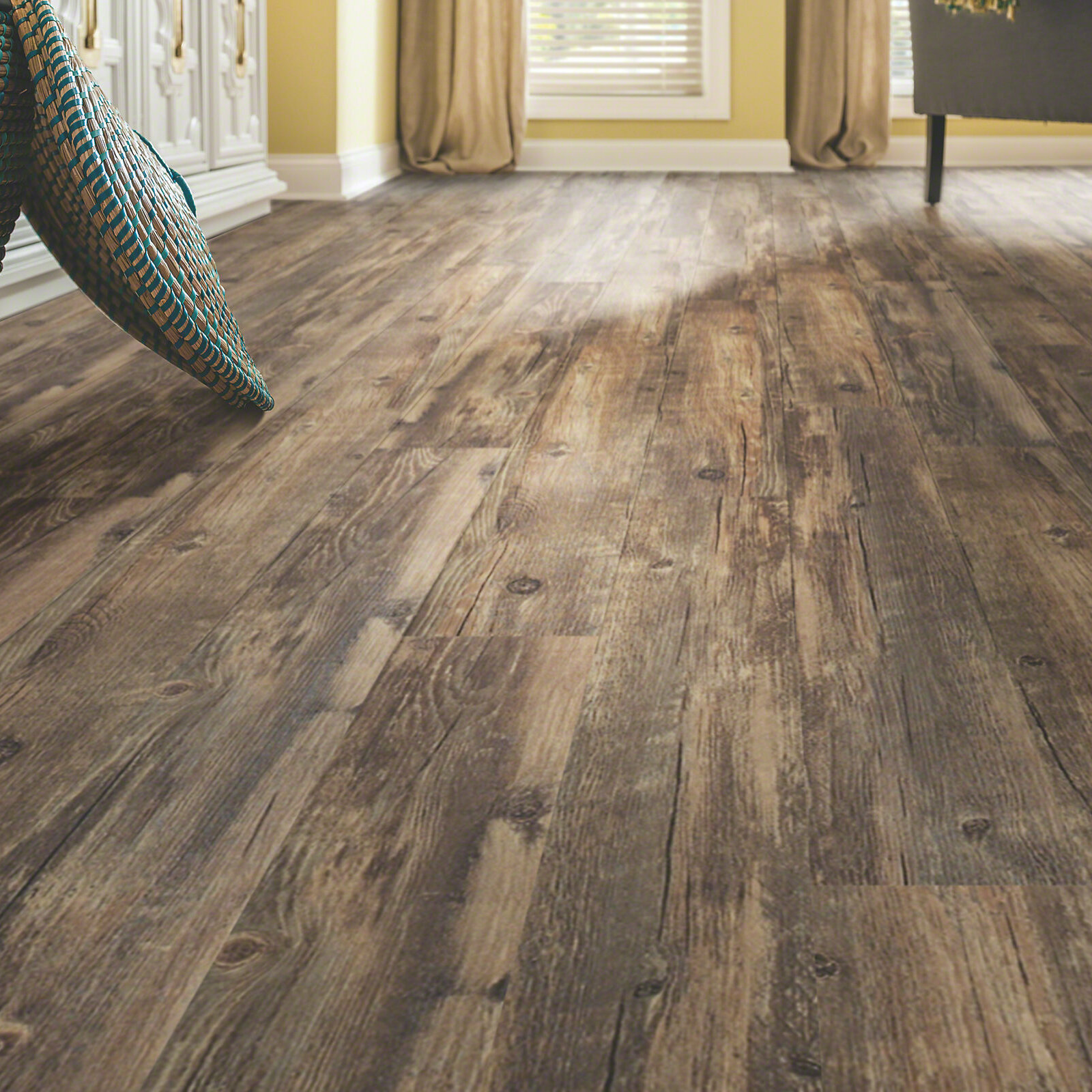 "Vinyl Flooring Wood Reviews: Shaw Floors World's Fair 12 6"" X 48"" X 2mm Luxury Vinyl"