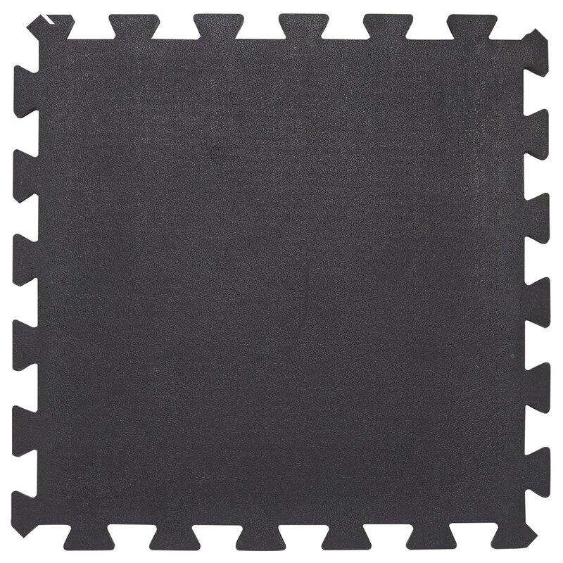 Envelor home reversible interlocking rubber garage flooring tiles