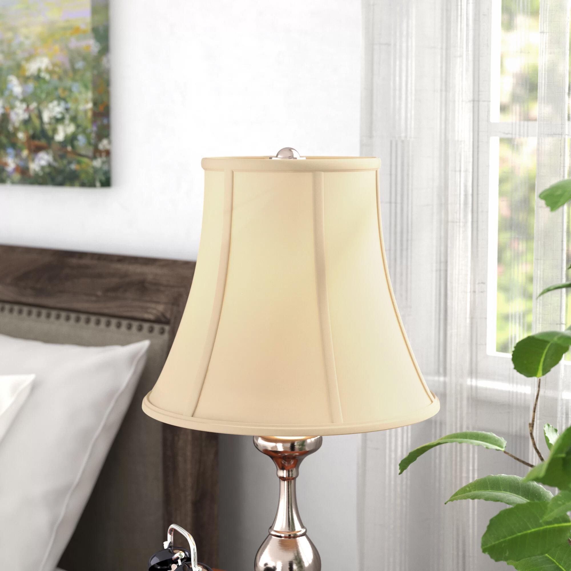 Alcott hill 12 silk bell lamp shade reviews wayfair