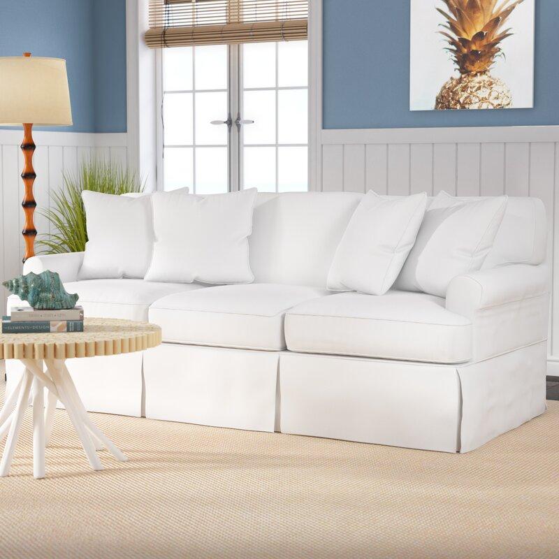 coral gables slipcovered sofa reviews joss main. Black Bedroom Furniture Sets. Home Design Ideas