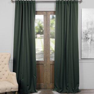 Mint Green Blackout Curtains