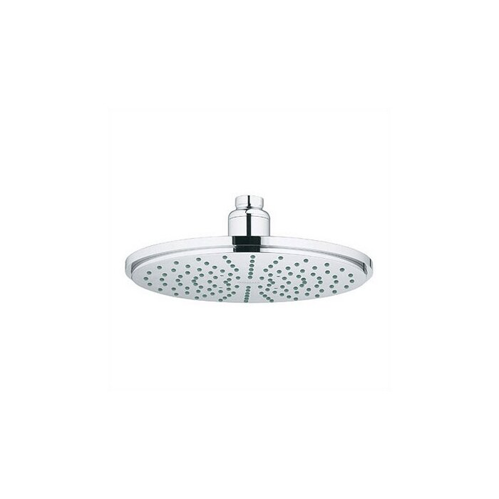 rain shower head with hose. Rain Shower Head With SpeedClean Nozzles And DreamSpray Grohe