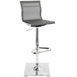 Payakumbuh Modern Mesh Adjustable Height Swivel Bar Stool (Set of 2)
