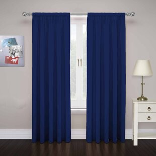 84 Inch Rod Pocket Curtains Wayfair