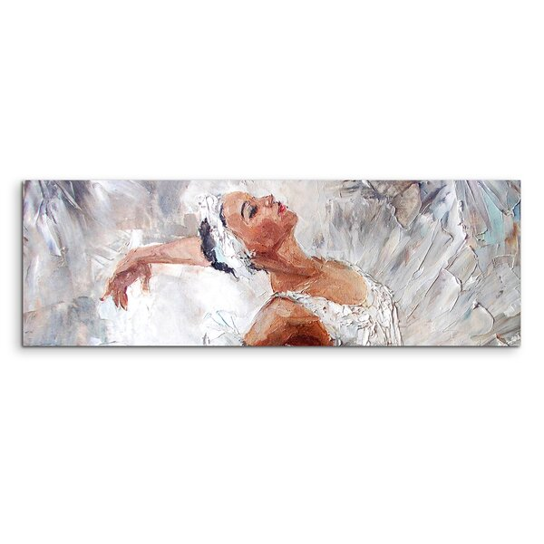 East Urban Home Ballerina Framed Print on Canvas | Wayfair.co.uk