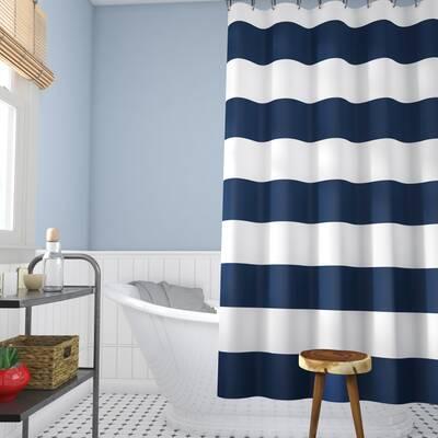 Ewen 100 Cotton Single Shower Curtain Reviews Allmodern
