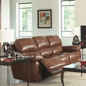 Ulster Power Motion Reclining Sofa by Red Ba..