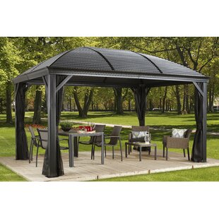Moreno Aluminum Permanent Gazebo  sc 1 st  Wayfair & Gazebos Youu0027ll Love | Wayfair