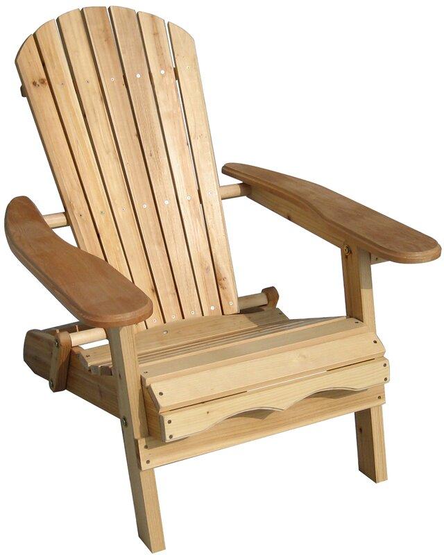 Lissette Folding Adirondack Chair