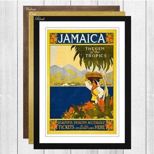 Framed Vintage Travel Posters | Wayfair co uk