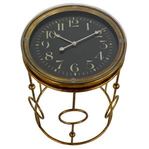 Nanette Clock End Table by Asp..