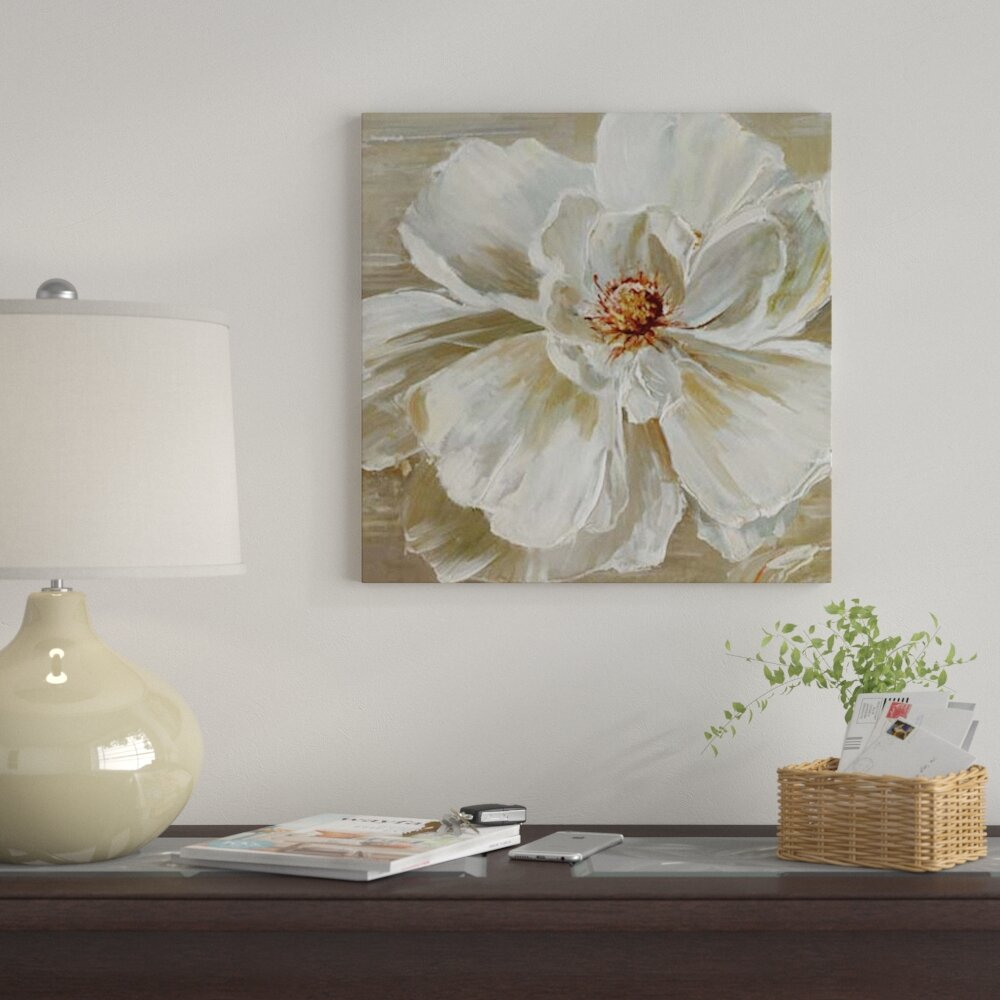 The Bloomin Couch Table For Two: East Urban Home 'Bloomin Beauty II' Print On Canvas
