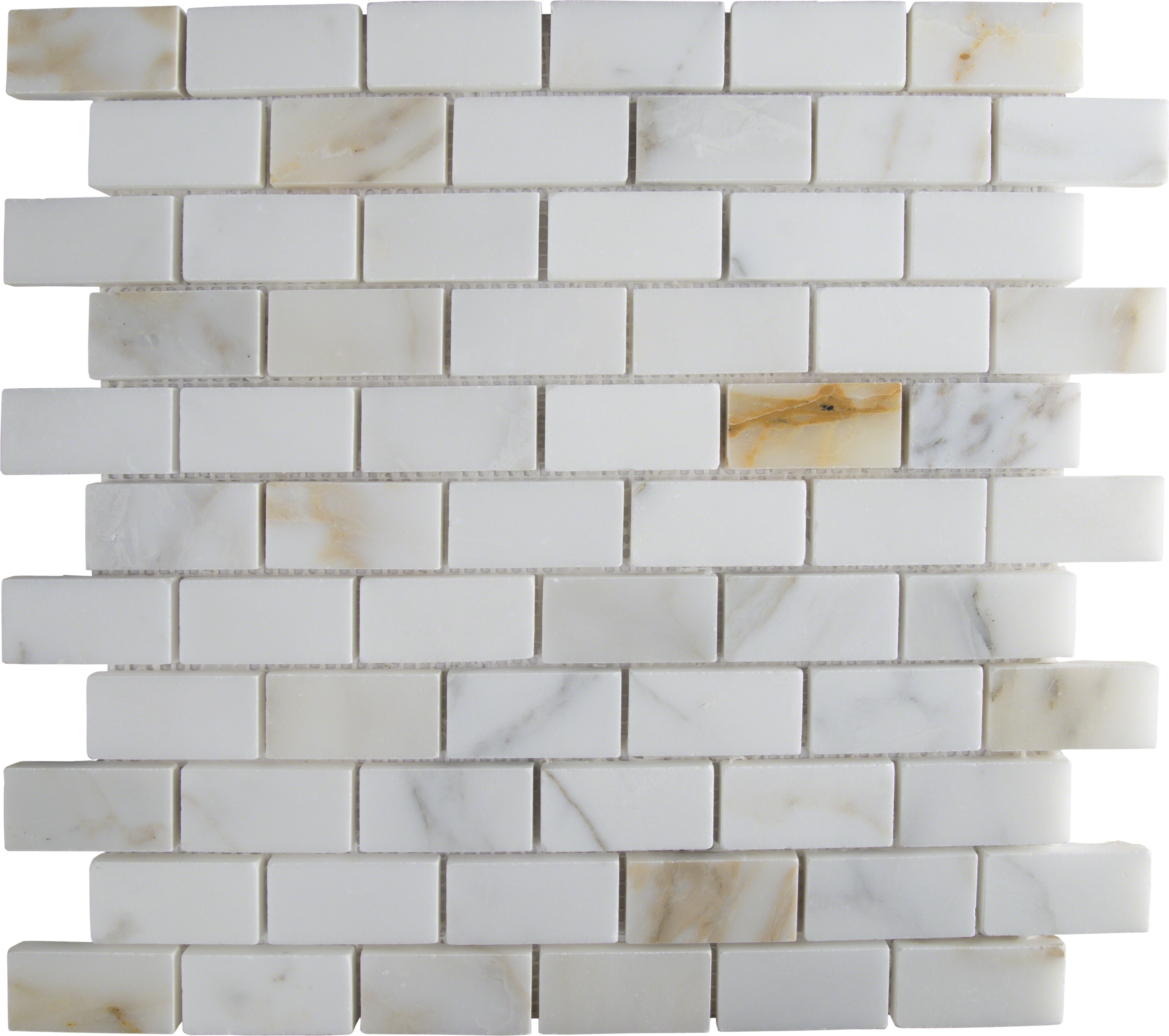 Msi calacatta gold mounted 1 x 2 marble subway tile in white msi calacatta gold mounted 1 x 2 marble subway tile in white reviews wayfair dailygadgetfo Gallery