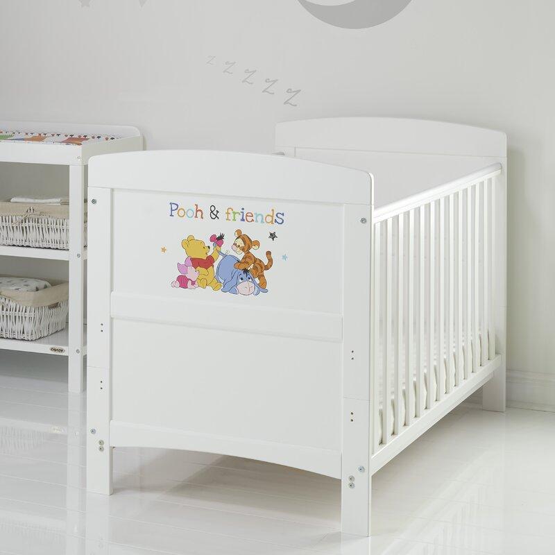 Winnie the Pooh Babybett Winnie the Pooh mit Matratze | Wayfair.de