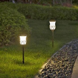 Walkway & Path Lights You'll | Wayfair on front walkway ideas, accessories ideas, october wedding decoration ideas, landscaping ideas, path paving ideas, diy walkway ideas, walkways and pathways ideas, diy painting ideas, rock painting ideas, solar light ideas, path garden ideas, solar powered ideas,