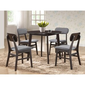 Alcorn 5 Piece Dining Set by Latitude Run