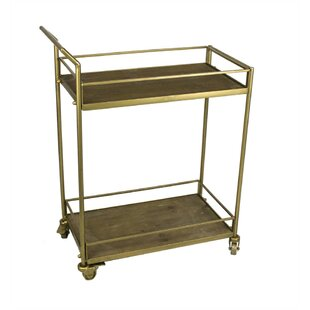 Faulkner 2 Tiered Bar Cart