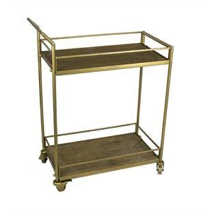 Faulkner 2 Tiered Bar Cart Best