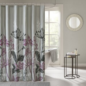 Sanmiguel Printed Shower Curtain