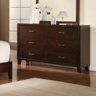 Carreras 6 Drawer Double Dresser