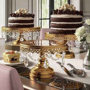 560e8af1637f Cake & Tiered Stands You'll Love   Wayfair