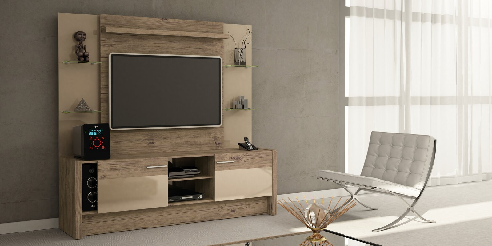 Kathi Entertainment Center & Reviews | AllModern