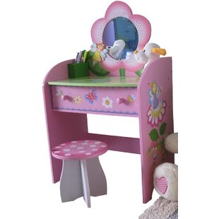 Fairy Dressing Table Set with Mirror by Liberty House Toys