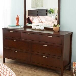 Juno Simmons Casegoods 7 Drawer Dresser by Mercury Row