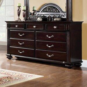 Wesleyan 9 Drawer Dresser