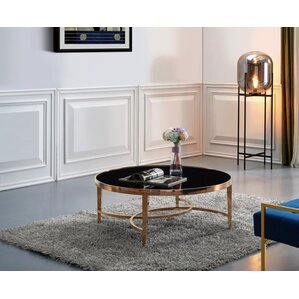 Rachal Round Coffee Table by Everly Quinn