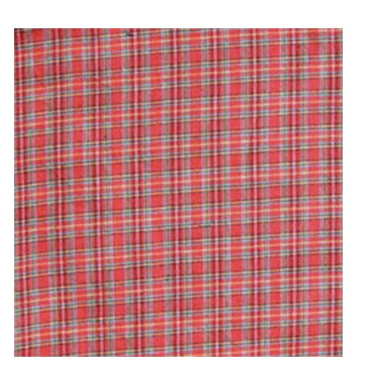 Red Plaid and Green Black Lines Napkin