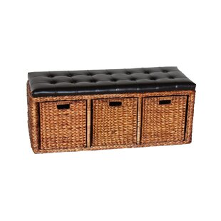 Charmant Wicker Storage Bench