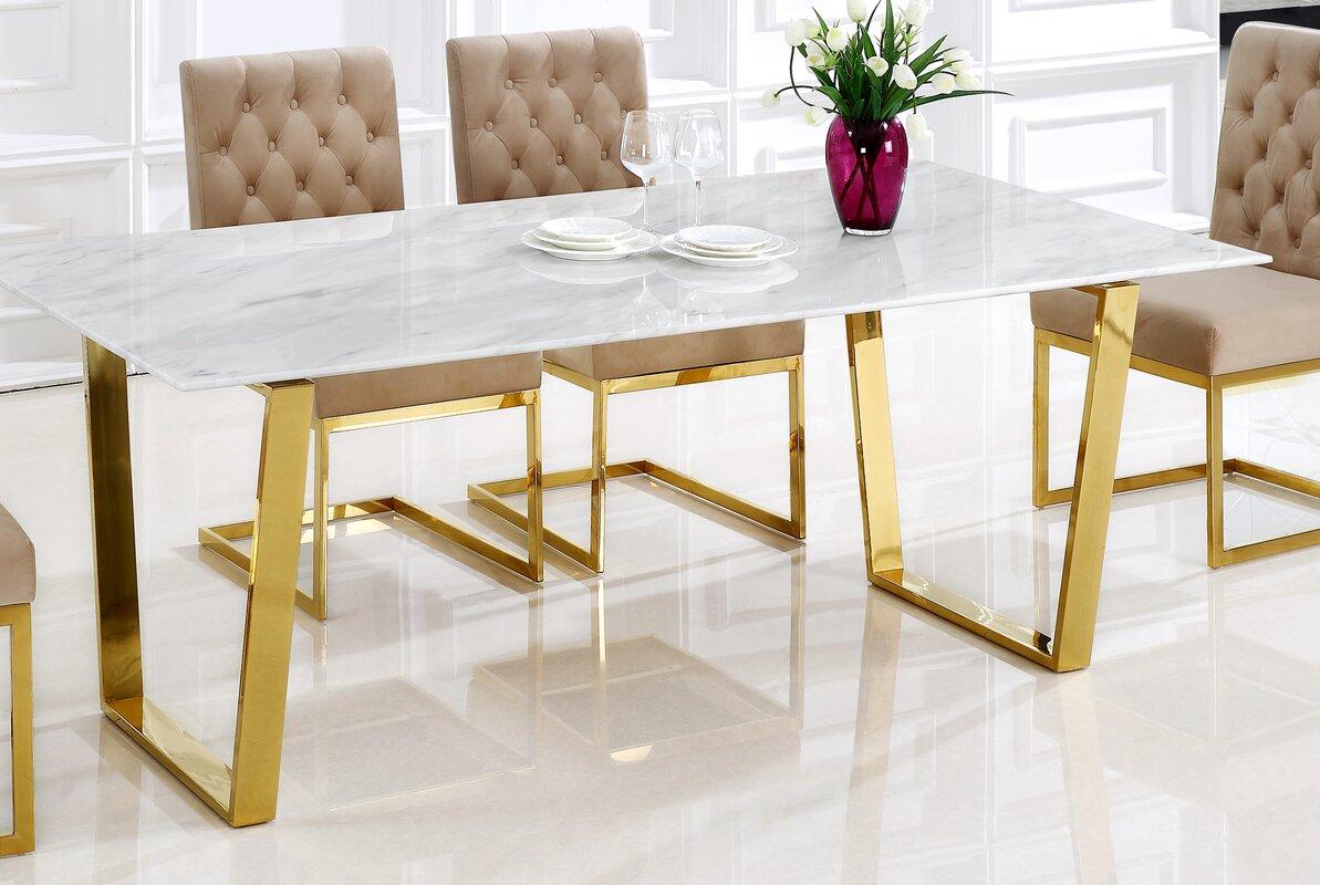 Willa Arlo Interiors Germana Dining Table Amp Reviews Wayfair