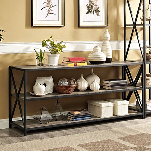 Augustan Coffee Table: Augustus Media Etagere Bookcase & Reviews