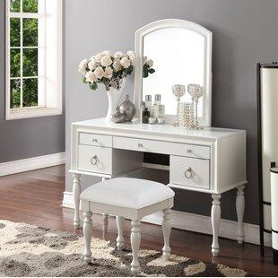 White Vanity Tables | Wayfair
