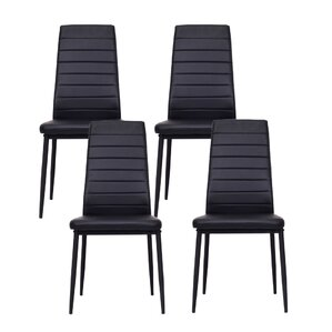 Raze Modern Upholstered Dining Chair (Set of 4) by Orren Ellis