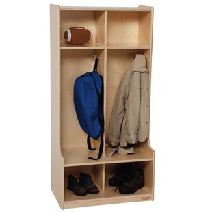 Contender 2 Section Coat Locker