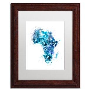 Map Of Africa Art.Map Of Africa Wall Art Wayfair