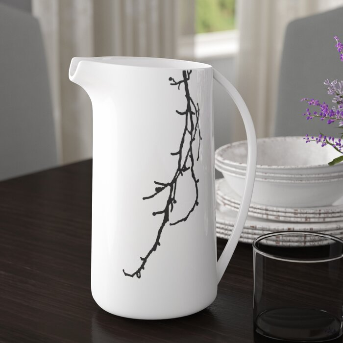 August Grove Arbus Decorative Ceramic Pitcher Wayfairca Adorable Decorative Ceramic Pitchers