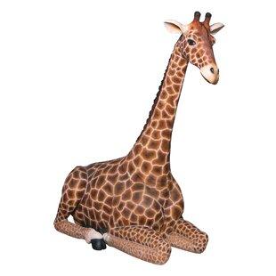 giraffe garden statue wayfair