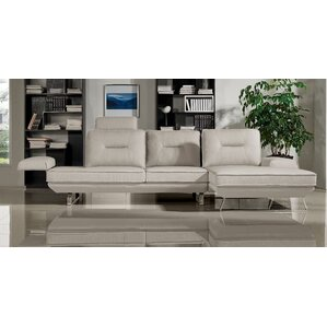 Contempo Sectional by Diamond Sofa