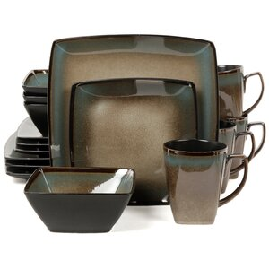 Tequesta 16 Piece Dinnerware Set, Service for 4