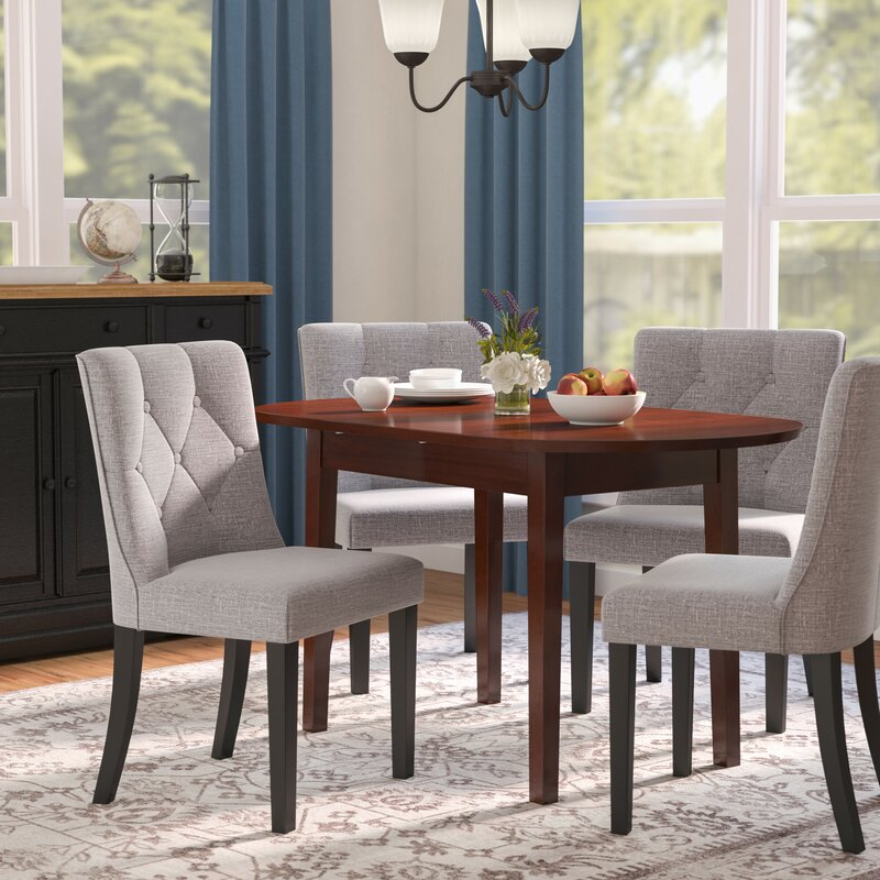 Andover Mills Rollins Extendable Dining Table Reviews: Andover Mills Antora Butterfly Extendable Dining Table
