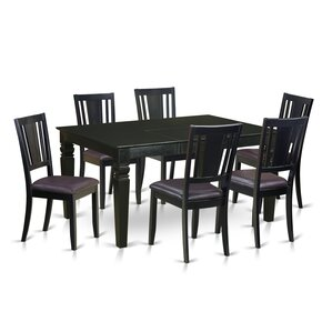 Weston 7 Piece Dining Set by Wooden Importers
