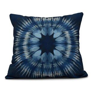 40b35826dd Dabria Shibori Burst Indoor Outdoor Throw Pillow