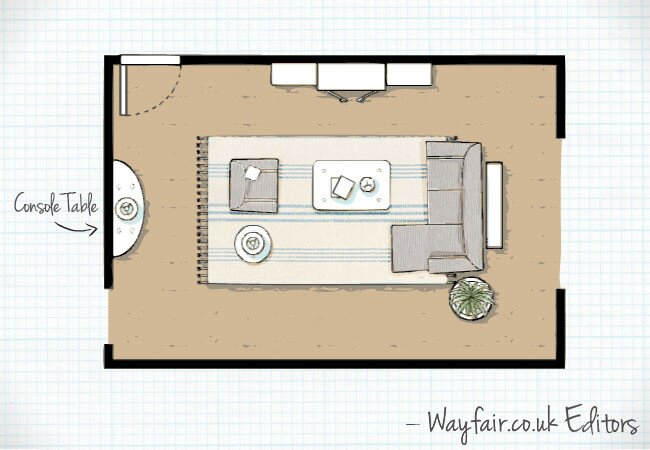 3 of the Best Living Room Layouts Wayfaircouk